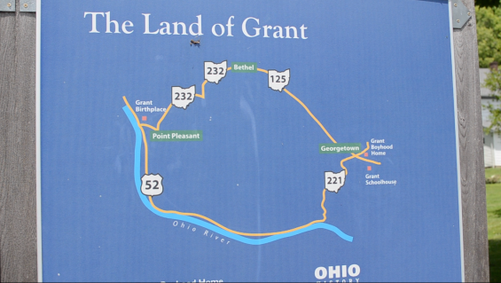 """Found drawing of """"The Land of Grant"""""""