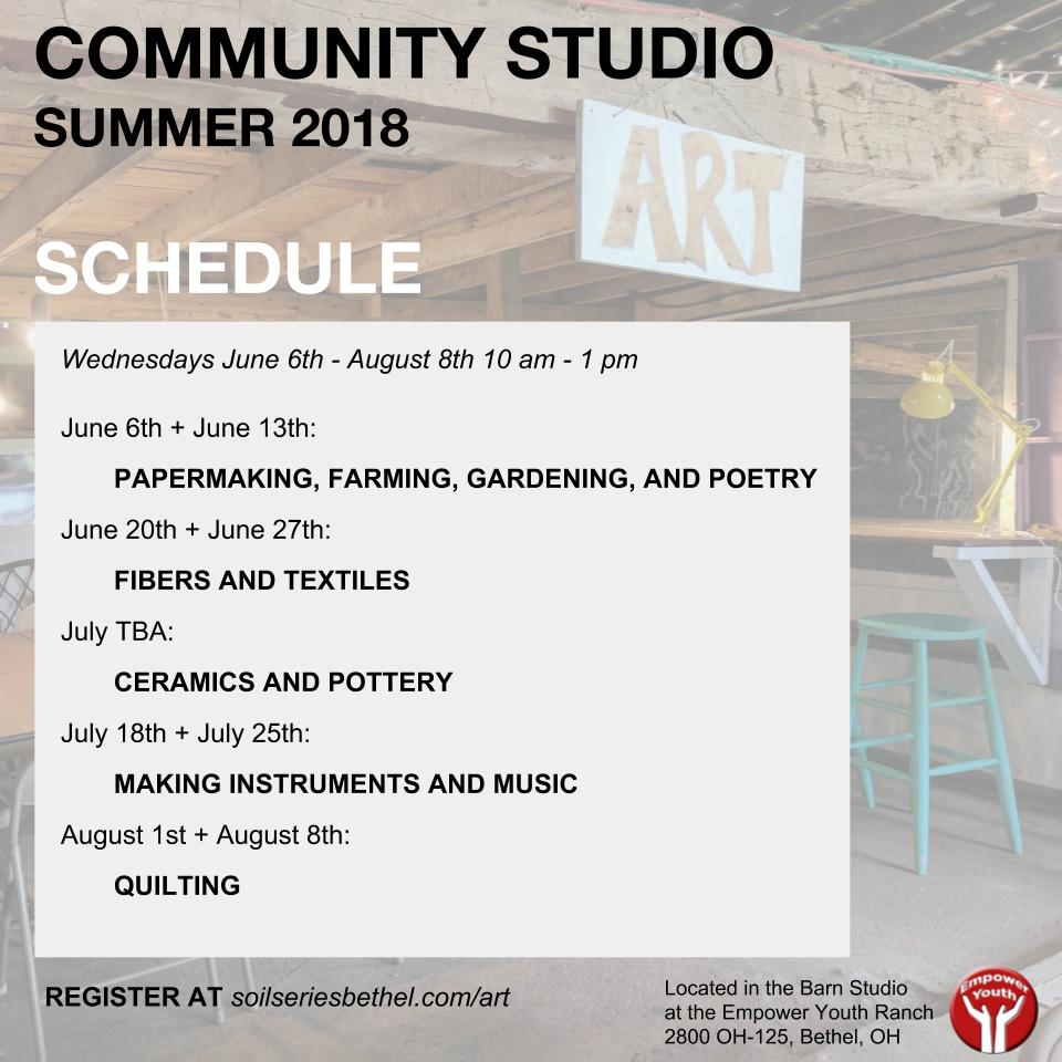 Community Studio 2018 Schedule (1)